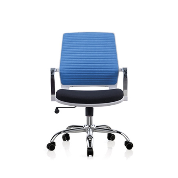 Low Back Mesh Office Task Chair with Chrome Armrest and Aluminum Base (YF-6622W)