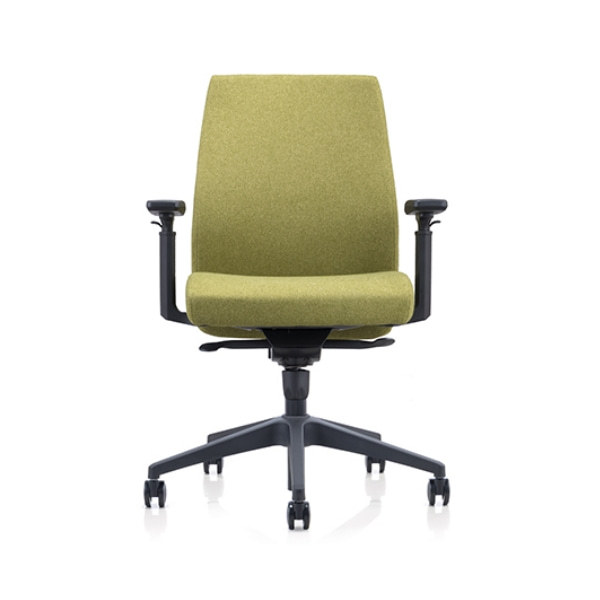 Middle Back Mesh Office Task Chair with height adjustable armrest(YF-620-134)