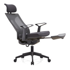 Mesh Office Ergonomic Reclining Chair with foottrest,lumbar support and headrest(YF-A39)