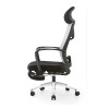 YF-A61 Ergonomic Design Home Office Reclining Mesh Computer Chair with Foot Rotation