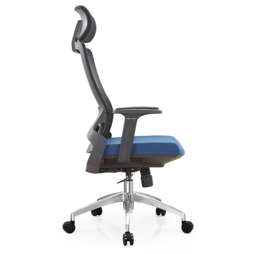 Y&F High Back Mesh Executive Chair with alumnium base and nylon height adjustable armrest (YF-A35-1)