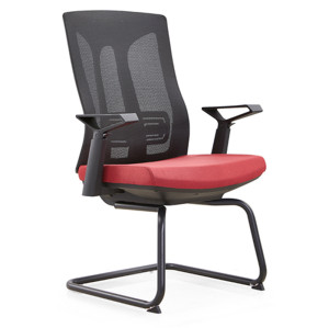 Middle Back Office meeting mesh  Chair with Lumbar Support,Nylon Armrest(YF-D30-2)