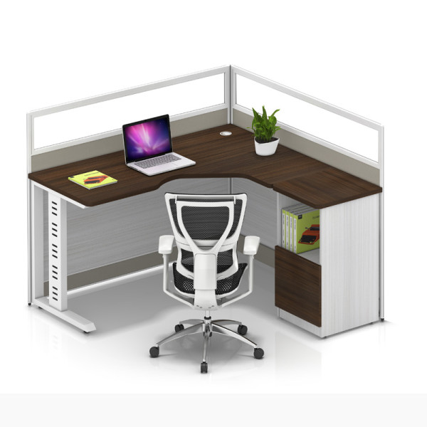 Wholesale modern modular single office desk cubicles workstation small office partition(YF-YM102A)