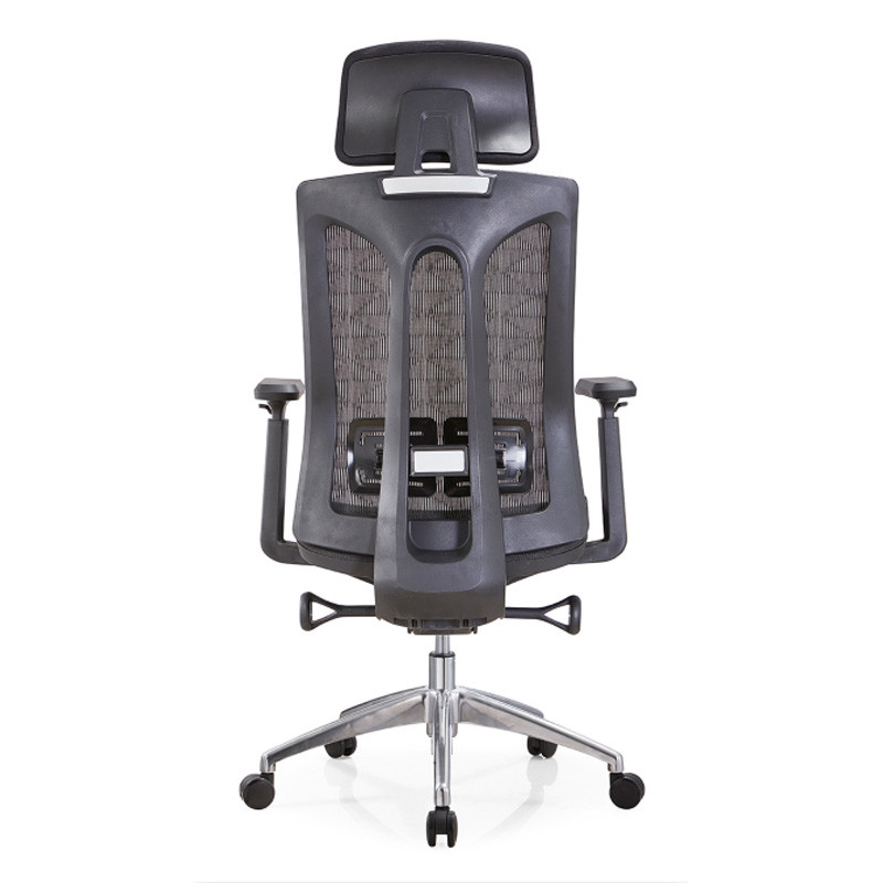 High Back Mesh chair, Executive Chair with aluminum base and 3D nylon+PU pad armrest(YF-A36)