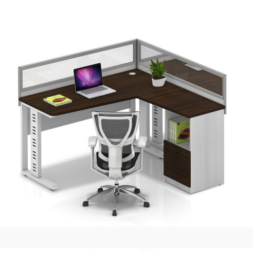 Wholesale modern modular 2 people office desk cubicles workstation small office partition(YF-YM203B)