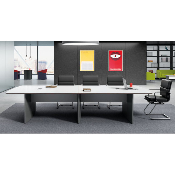 Modern Design Meeting table,made of melamine board and particle board (H1-H0136)