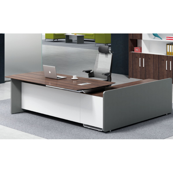 Modern Design Executive Office Desk, Made of Melamine and Laminate(H1-T0126)