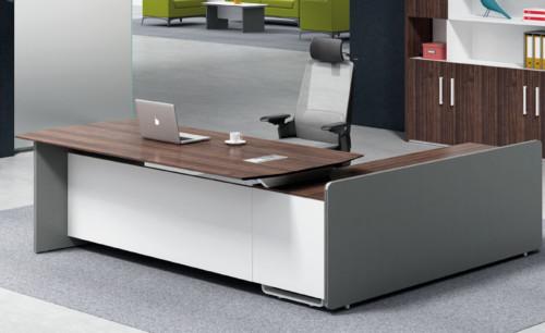 Modern Design Executive Office Desk, Made of Melamine and Laminate(H1-T0126)