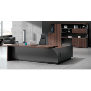 Modern Design Executive Office Desk, Made of Melamine and Laminate(H3-T0227)
