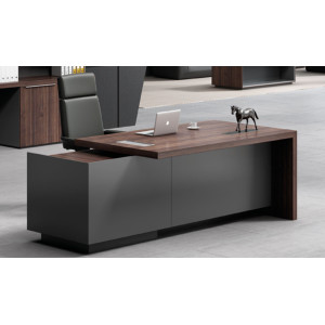 Modern Design Executive Office Desk, Made of Melamine and Laminate(H3-T0322)