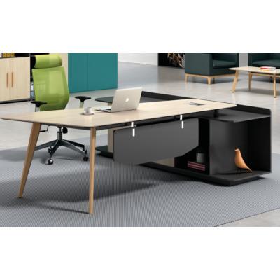 Modern Design Executive Office Desk, Made of Melamine and Laminate(H2-T0124)