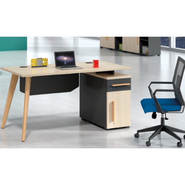 Modern Simple Design Executive Office Desk, Made of Melamine and Laminate(H2-T0514)