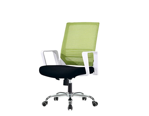 Wholesale Mid-Back Mesh Office Chair(YF-130-Green)