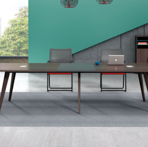Modern Design Meeting table,made of melamine board and particle board (H2-H0336)