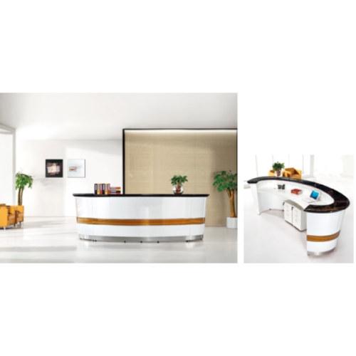 Wholesale high-quality modern office receptionist desk (YF-Q04)