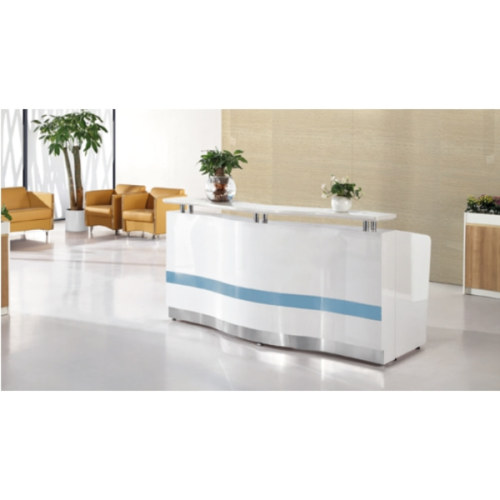 Wholesale high-quality modern office receptionist desk  (YF-Q08)