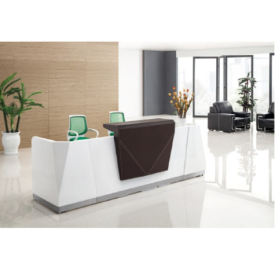 Wholesale high-quality modern office receptionist desk (YF-Q07)