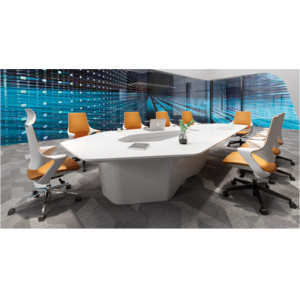 Modern Design Meeting table,made of melamine board and particle board (YF-9981)