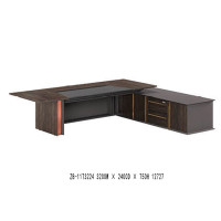 Modern Design Executive Office Desk, Made of Melamine and Laminate(ZB-11T3224)