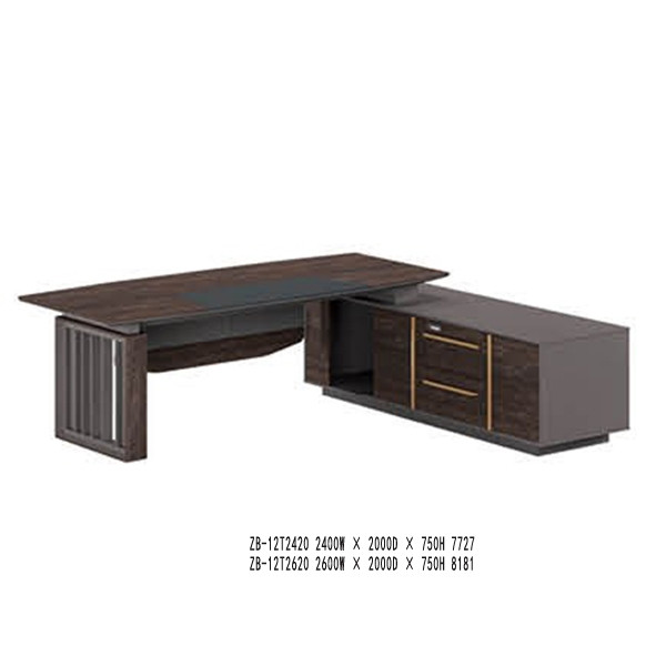 Modern Design Executive Office Desk,(ZB-12T2420)