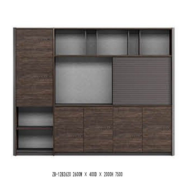 Modern Design bookcase,(ZB-12B2620)