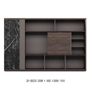 Modern Design Executive Office Desk, Made of Melamine and Laminate(ZB-13T2622)
