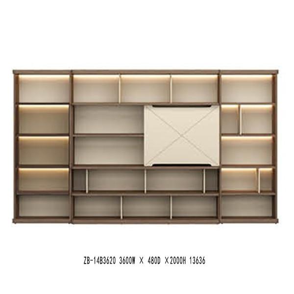 Modern Design bookcase(ZB-14B3620)