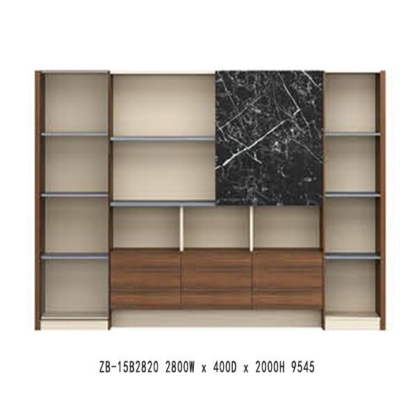 Modern Design bookcase(ZB-15B2820)
