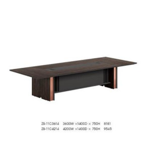 Modern Design Conference Table, made of melamine board and particle board (ZB-11C3614)