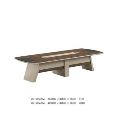 Modern Design Conference Table, made of melamine board and particle board (ZB-12C3614)