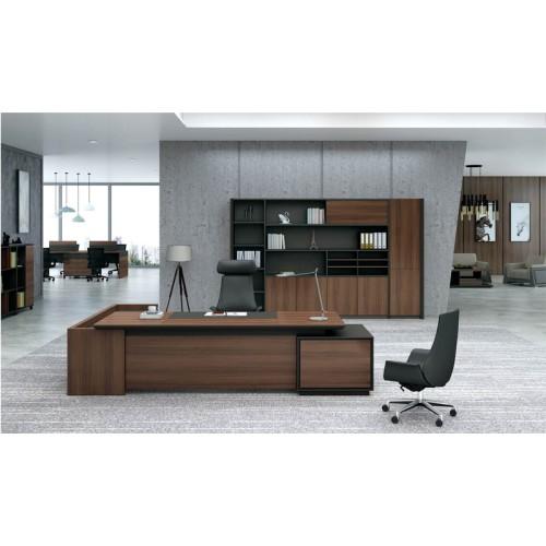 Modern Design Executive Office Desk, Made of Melamine and Laminate(KT-01T2820)
