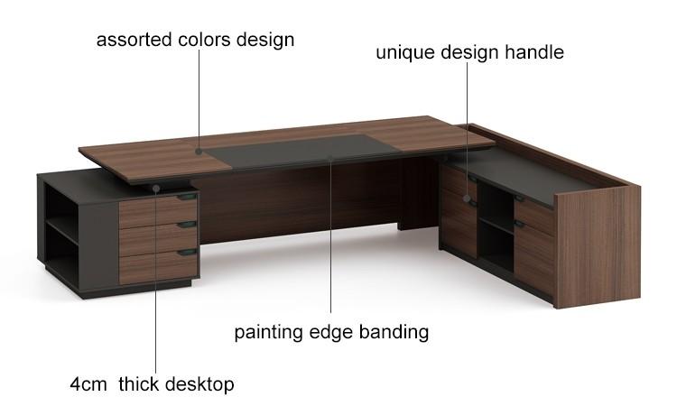 Modern Design Executive Office Desk(KT-01T2820)