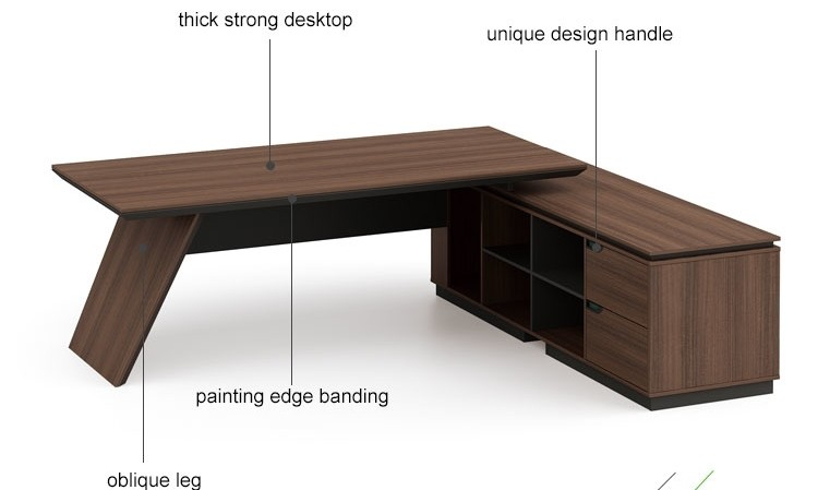 Modern Design Executive Office Desk(KT-04T2420)