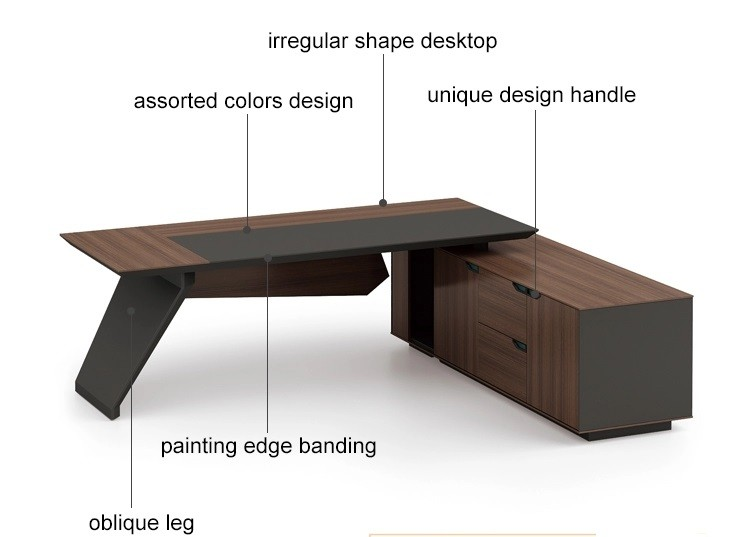 Modern Design Executive Office Desk(KT-03T2420)