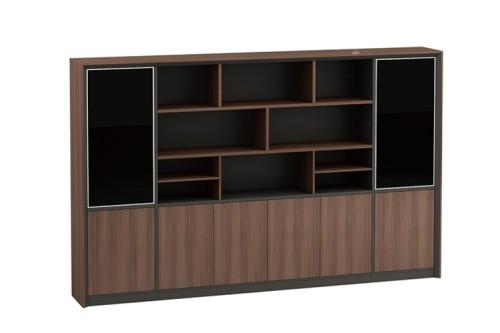 Modern Design Executive Office Desk, Made of Melamine, Oblique leg(KT-03T2420)