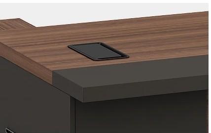 Modern Design L Shaped Executive Office Desk side cabinet(KT-08T1616)