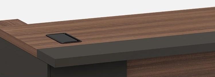Modern Design L Shaped Executive Office Desk(KT-08T1616)