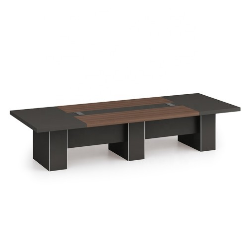 Modern Design 10 Seater Conference Table, made of melamine board (KT-03C3614)