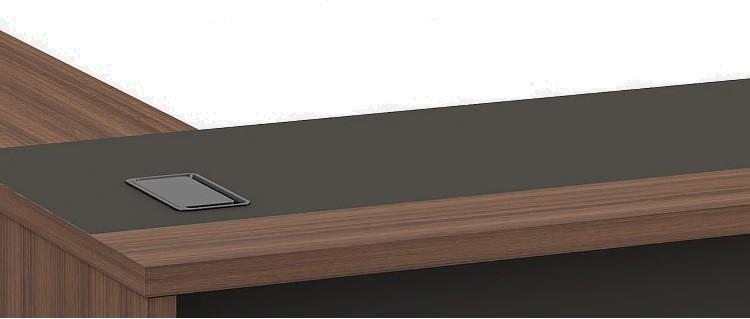 Modern Design L Shaped Executive Office Desk, Made of MDF(KT-06T1816)