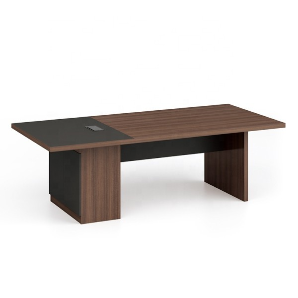Modern Design 10 Seater Conference Table, made of melamine board (KT-04C2411)