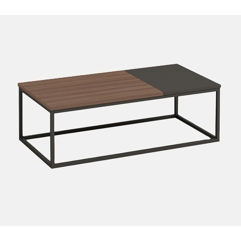Wholesale long metal frame assorted color coffee table  (KT-01F1470)