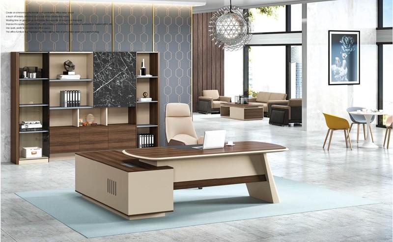 ZB-15T# Executive Desk & ZB-15B# Bookcase