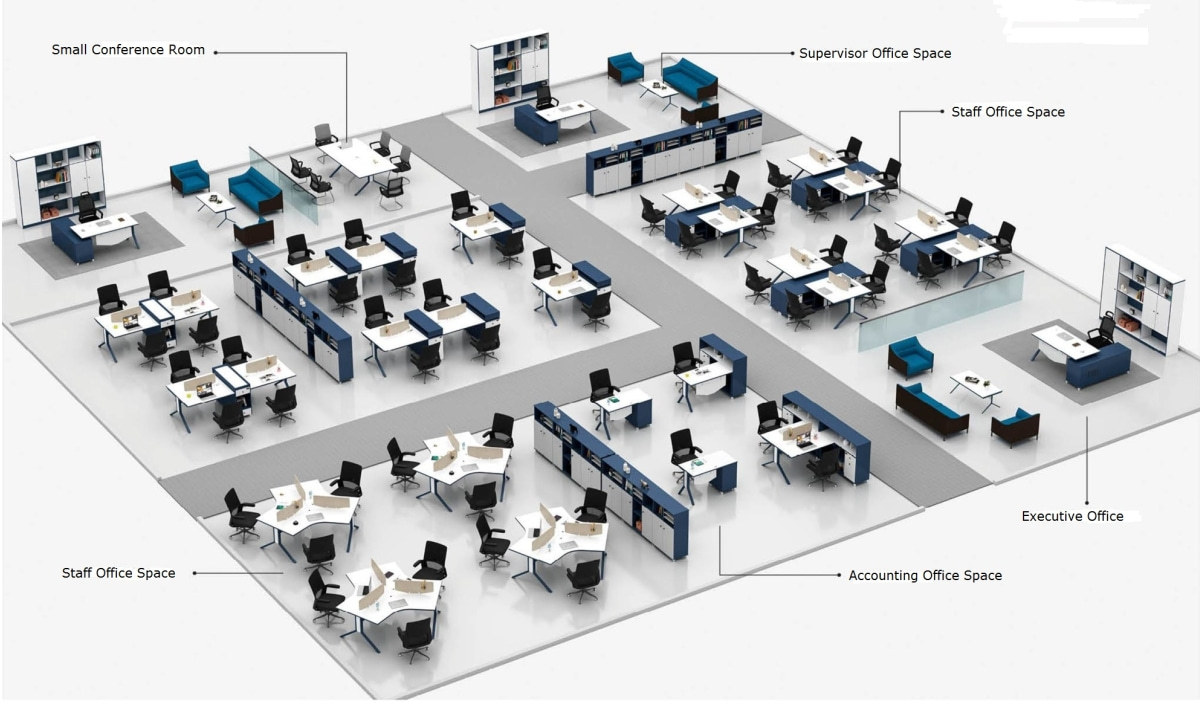 MS Series Office Space Total Solution