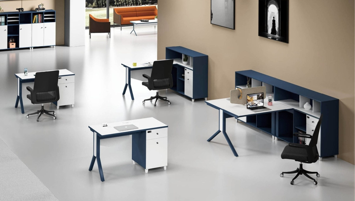 MS-51W# 1-person Office Workstation
