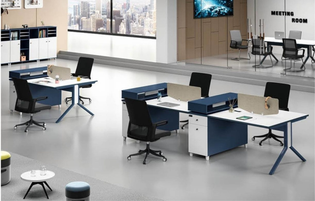 MS-55W#  2-person Office Workstation