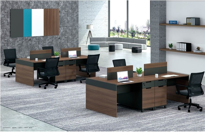 KT-02W2412 4-person Workstation