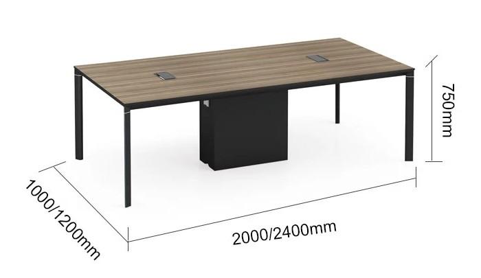 Modern Design 6 Seater Conference table,made of MFC melamine board (LT-01C2010)