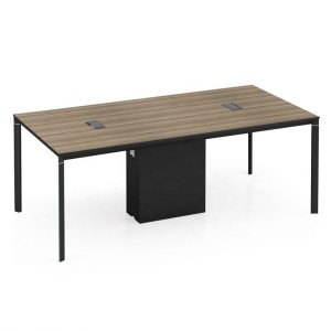 Modern Design 6 Seater Conference Table, made of melamine board (LT-01C2010)