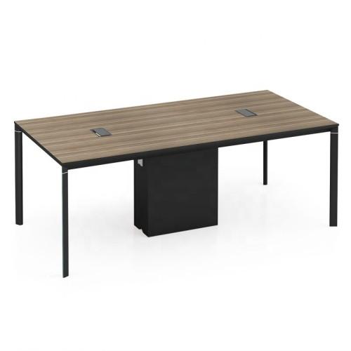 Modern Design 6 Seater Conference Table, made of melamine board (LT-01C2010)