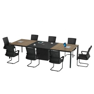 Modern Design 8 Seater Conference Table, made of melamine board (LT-02C3213)